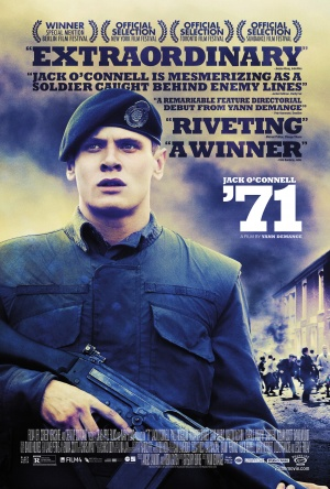 '71 (2014) by The Critical Movie Critics