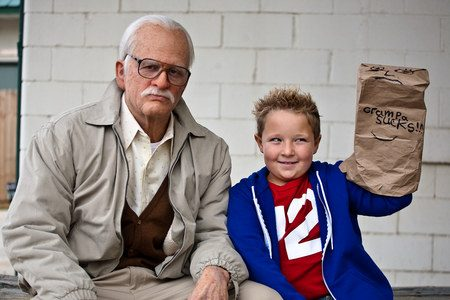 Movie Review:  Bad Grandpa (2013)