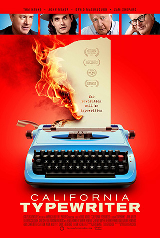 California Typewriter (2016) by The Critical Movie Critics