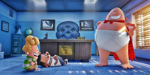 Movie Review:  Captain Underpants: The First Epic Movie (2017)