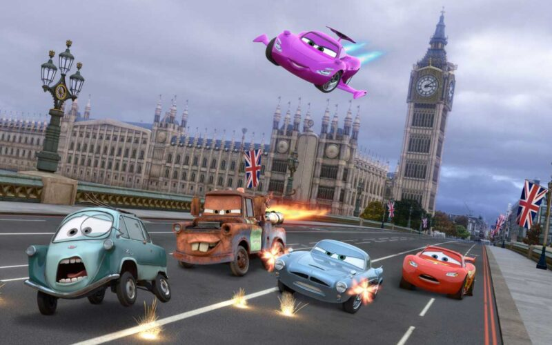 Cars 2 (2011) by The Critical Movie Critics
