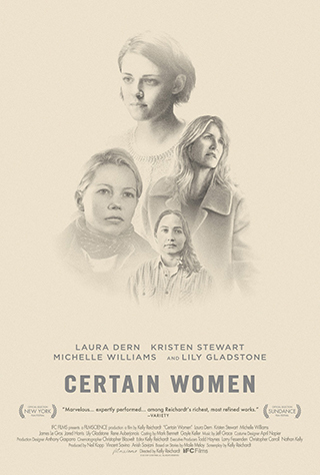 Certain Women (2016) by The Critical Movie Critics