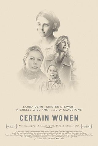 Certain Women (2016) by The Critical Movie Critics