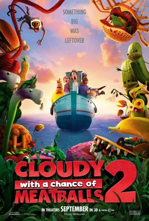 Cloudy with a Chance of Meatballs 2 (2013) by The Critical Movie Critics