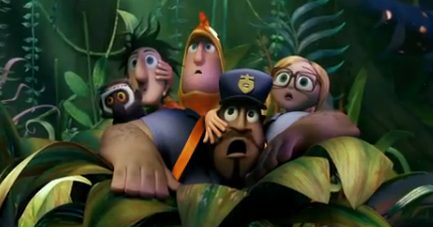 Movie Trailer:  Cloudy with a Chance of Meatballs 2 (2013)