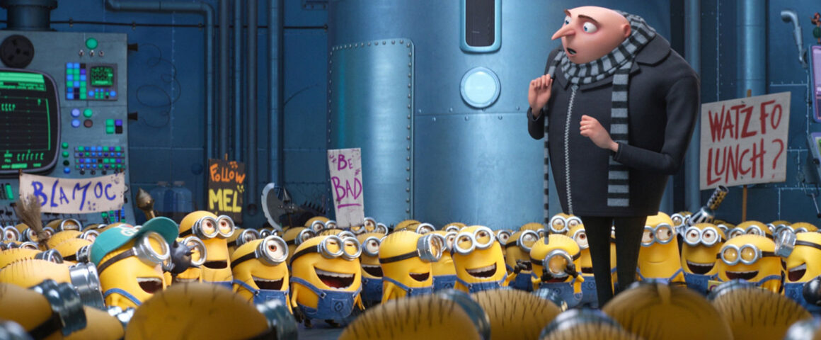 Despicable Me 3 (2017) by The Critical Movie Critics