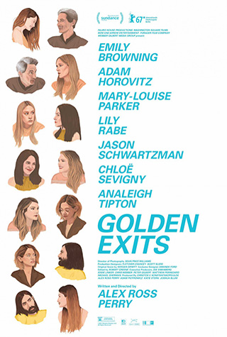 Golden Exits (2017) by The Critical Movie Critics