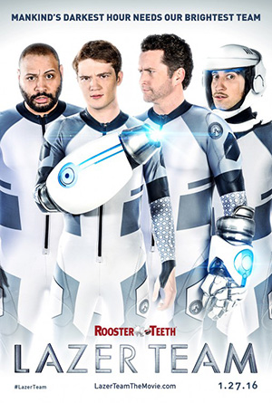 Lazer Team (2015) by The Critical Movie Critics