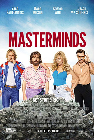 Masterminds (2016) by The Critical Movie Critics