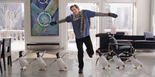 Movie Review:  Mr. Popper's Penguins (2011)