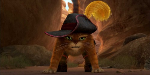 Movie Review:  Puss in Boots (2011)