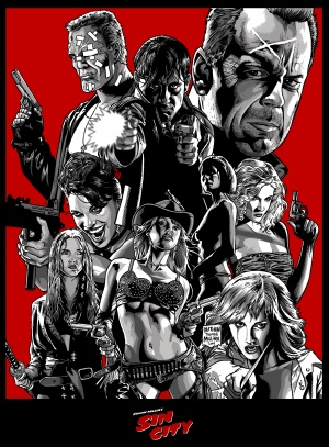 movie review sin city Maybe there's little sense in asking a movie named sin city: a dame to kill for to show some restraint the title is a promise of naughty behavior left unchecked by.