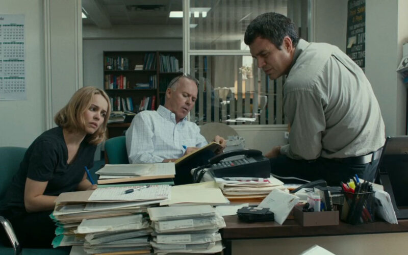 Spotlight (2015) by The Critical Movie Critics