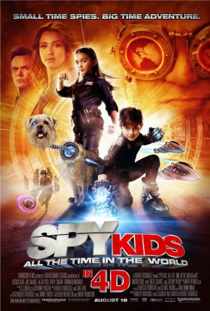 Spy Kids: All the Time in the World (2011) by The Critical Movie Critics