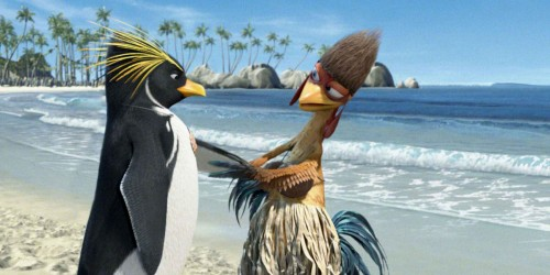 Movie Review:  Surf's Up (2007)