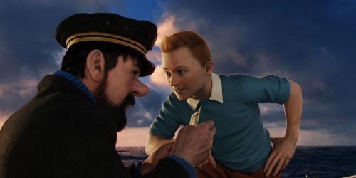 Movie Review:  The Adventures of Tintin: Secret of the Unicorn (2011)
