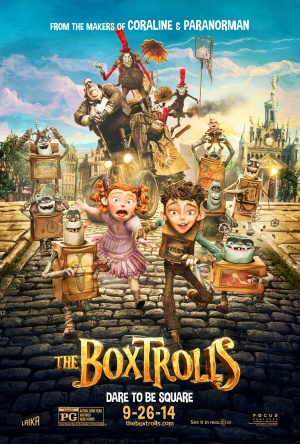 The Boxtrolls (2014) by The Critical Movie Critics