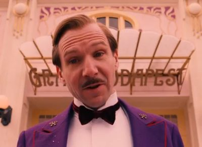 Movie Trailer:  The Grand Budapest Hotel (2014)