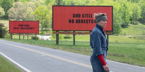 Movie Review:  Three Billboards Outside Ebbing, Missouri (2017)