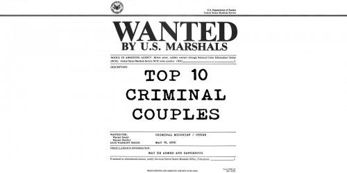 Feature: Top 10 Criminal Movie Couples