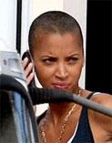 You Noemie lenoir shaved head sorry