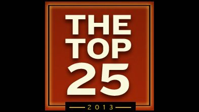 Feature:  Top 25 Movies of 2013
