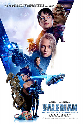 Valerian and the City of a Thousand Planets (2017) by The Critical Movie Critics